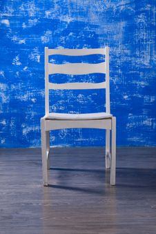 Free White Chair Royalty Free Stock Photography - 23783107