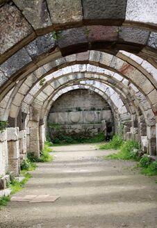 Free The Smyrna Agora Ancient City. Royalty Free Stock Photos - 23783118