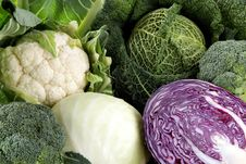 Free Fresh Cabbage Mixed Vegetables Stock Photo - 23785830