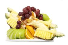 Free A Plate Of Fruit Royalty Free Stock Images - 23787089