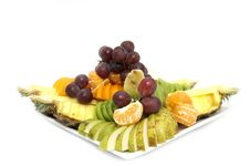Free A Large Plate Of Fruit Royalty Free Stock Photo - 23787105