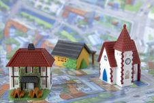 Free Village Miniature With Houses Stock Image - 23789761