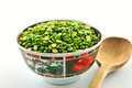 Free Peas In A Bowl Royalty Free Stock Photos - 23792428