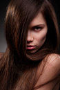 Free Beautiful Woman With Long Hair Stock Photo - 23795020