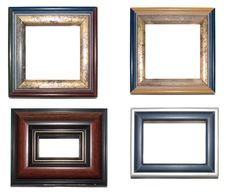 Free Four Frames 04 Royalty Free Stock Image - 23791296