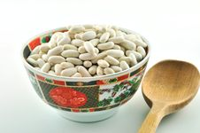 Free Beans In A Bowl Royalty Free Stock Photography - 23791917