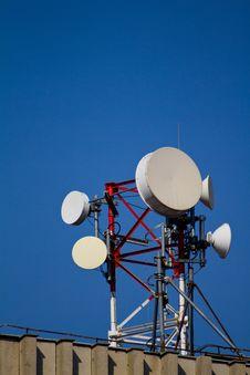 Free Telecommunication Antena Stock Photography - 23793512