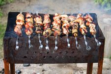 Barbecue Meat Royalty Free Stock Photography