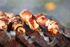 Barbecue Meat Stock Photo