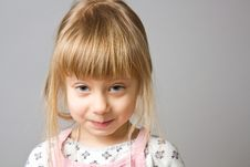 Free Portrait Little Girl. Stock Photo - 23793900