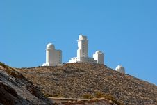 Free Observatory On The Road To Mount Teide Royalty Free Stock Image - 23794316
