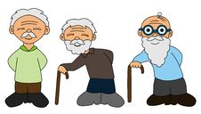 Free Elderly Collection Royalty Free Stock Photography - 23797147