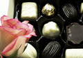 Free Rose And Chocolates Royalty Free Stock Images - 2386159