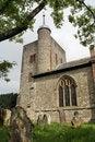 Free Norman Church In English Villa Stock Image - 2389141