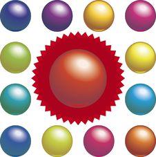Free Billar Balls (vector) Stock Photos - 2380533