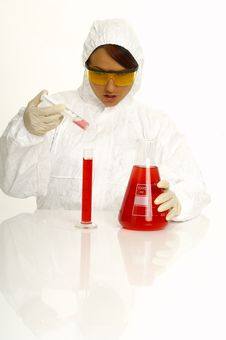 Free Beautiful Female Scientist Stock Photo - 2381170