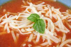 Free Bowl Of Tomato Soup Royalty Free Stock Photo - 2381215