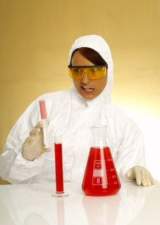 Free Beautiful Female Scientist Stock Photo - 2381260