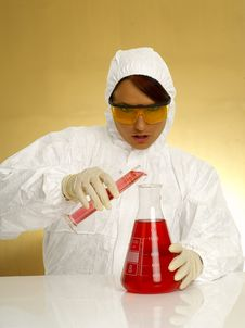 Free Beautiful Female Scientist Stock Photo - 2381340
