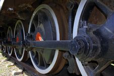 Free Old Train Wheels Stock Photography - 2382002