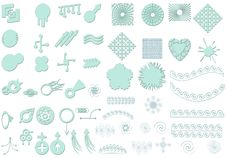 Free Contemporary Elements Royalty Free Stock Images - 2383019