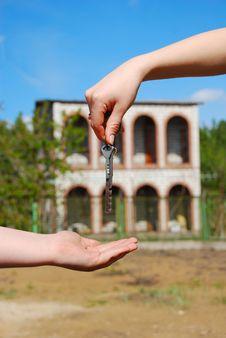 Free Keys Of New House Stock Image - 2383671