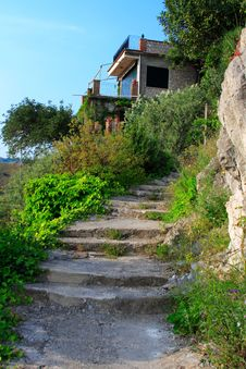 Free Isolated Sicilian House Stock Photo - 2384080