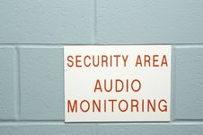 Free Security Area. Stock Image - 2384381