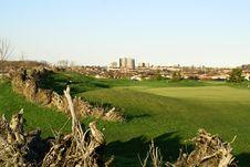 Free Beautiful Golf Hill Royalty Free Stock Photos - 2384908