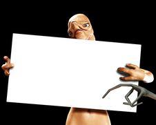 Free Alien Sign 10 Stock Image - 2384931