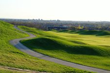 Free Beautiful Golf Hill Royalty Free Stock Photography - 2385017