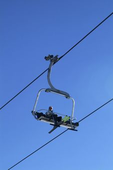 Free Sky Chair-lift Royalty Free Stock Images - 2385279