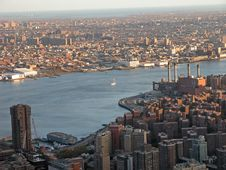 Free View From Empire State Buildin Stock Photos - 2385963