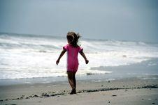 Free Walking Towards The Sea Royalty Free Stock Photography - 2386097