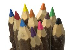 Free Nice Large Pencils Made Of Act Stock Images - 2386374
