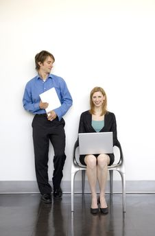 Free Coworkers Talk Together Stock Photos - 2386593