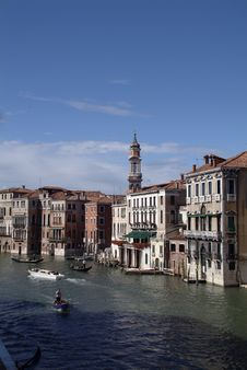 Free Grand Canal Venice Royalty Free Stock Image - 2387316