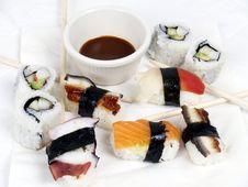 Free Sushi Appetizer Stock Image - 2387581