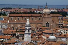 Free Venice Rooftops Royalty Free Stock Image - 2387856