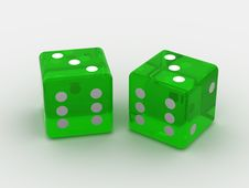 Free Dice Royalty Free Stock Photography - 2387967