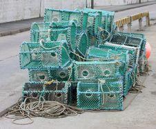 Free Crab Fishing Pots. Stock Images - 23800034