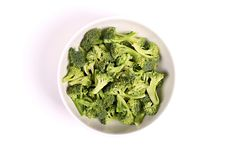 Free Broccoli In A Bowl Royalty Free Stock Image - 23800676