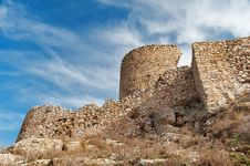Free The Ruins Of A Medieval Fortress Royalty Free Stock Photos - 23800908