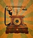 Free Vintage Telephone Stock Image - 23821311