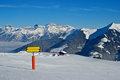 Free Ski Directions Royalty Free Stock Images - 23821449