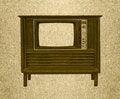 Free Vintage Television Stock Photo - 23821490