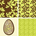 Free Green Leaves Seamless Pattern Royalty Free Stock Image - 23825606