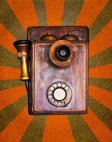 Free Vintage Telephone Stock Image - 23821411