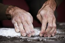 Free Tough Hands - Climbing Series Stock Photo - 23824930