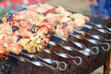 Barbecue Meat Stock Photos